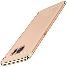 Handy Hülle Schutz Case für Samsung Galaxy J3 2017 Bumper 3 in 1 Cover Gold Neu