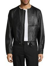 RARE ADIDAS Y3 (Y 3) Yohji Yamamoto BLACK Leather Jacket XL