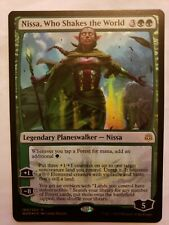 x1 FOIL Nissa, Who Shakes the World -- War of the Spark NM MTG