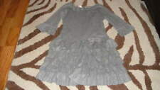 BOUTIQUE ISOBELLA & CHLOE 5 GRAY GORGEOUS DRESS