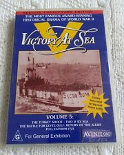 VICTORY AT SEA – SPECIAL COLLECTOR'S EDITION - VOLUME 5 - DVD, R-ALL, LIKE NEW