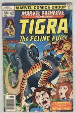 Marvel Premiere #42 June 1978 VG- Tigra