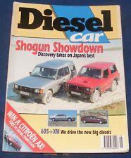 DIESEL CAR ISSUE 20 MAY 1990 - SHOGUN SHOWDOWN/VOLVO 760 ESTATE/CITROEN BX TZD