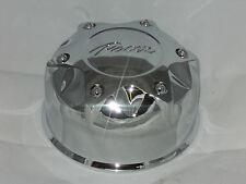 NEW PACER ALLOYS 89-8113P CHROME PUSH THRU WHEEL RIM 8 LUG SHORT CENTER CAP