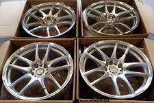 "18"" ESR SR08 18x8.5 Wheels 5x100 +30 For Toyota Corlloa Celica Matrix Rims Set"