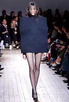 MAISON MARGIELA SS11 Black Turtleneck Wool Sweater Small New!