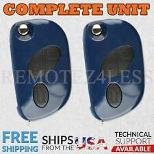 2 Keyless Entry Remote 2008 2009 Maserati GranTurismo Car Flip Key Fob