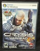 Crysis Warhead  2008  -  PC CD-ROM Complete Mint Discs 1 Owner