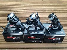 3 X GRANDESLAM SOL 20 FISHING REELS FOR COARSE RIVER SPINNING FISHING