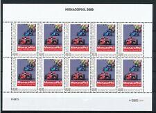 PERSOONLIJKE POSTZEGELS - MONACO PHIL 2009 - RACETRACK FORM. 1             PP123