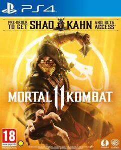 Mortal Kombat 11 + Shao Khan DLC (PS4) (NEU & OVP) English Version