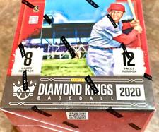 2020 DIAMOND KINGS béisbol pasatiempo caja Nuevo Sellado Envío Gratis +++ Auto PANINI Royal Crown