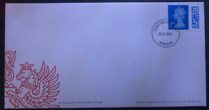 GB 2021 / 2nd Barcoded FDC First Day Cover / NP / Windsor 23.3.2021 / SG U4500