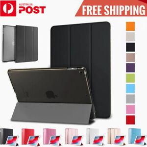 Smart Cover Hard Back Case For Apple iPad 7th 6th Gen 5 4 3 2 Mini Air Pro 2020