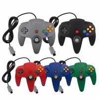 Nintendo 64 Wired Controller Multiple Colors