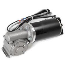 Dc24v Electric High Torque Worm Gear Motor Encoder Door Motor 220rpm Heavy Duty