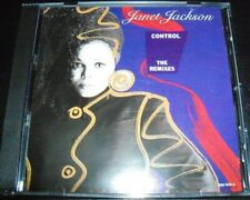 Janet Jackson Control The Remixes (Australia) CD – Like New