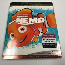 Finding Nemo 4K Uhd + BluRay Digital. 2019 Reissue Brand New Free Shipping