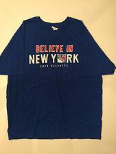 NY New York Rangers Believe in New York Shirt XL SGA 2013 Playoffs