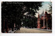 CANADA carte postale ancienne MONTREAL Sherbrooke street