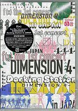 F(X)-F(X) THE 1ST CONCERT DIMENSION 4 - DOCKING STATION IN JAPAN-JAPAN DVD M13