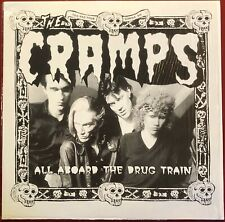 Cramps All Aboard The Drug Train 1980 Live S.F. Performance UK Pressing