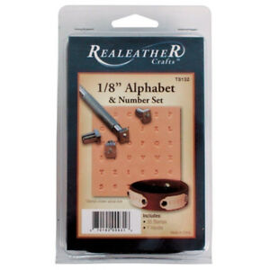 "1/8"" Alphabet & Number Set 8137-10"