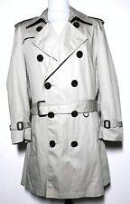 Mens Burberry BRIT Beige Tan Mac Coat Size L/XL *RRP £1,595* 8-505