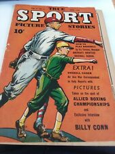 True Sport Picture Stories june 1945, vol 3. No1. Street and Smith very cool