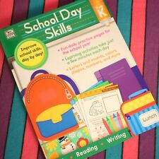 Summer Educational Learning Workbook School Day Skills Pre K Math Reading Write