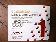 GC FUJI I 1 Powder & Liquid Luting Cement Large Pack - FREE SHIPPING
