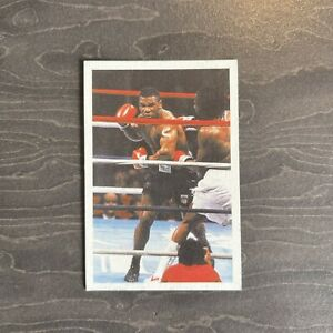 1986 Mike Tyson Rookie Card A Question Of Sport ⭐️