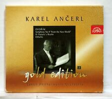 KAREL ANCERL - DVORAK Symphony no.9, In nature's realm, Othello SUPRAPHON CD NM