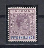 C2671/ BRITISH BAHAMAS – SG # 156a MINT MH CERTIFICATE – CV 6800 $