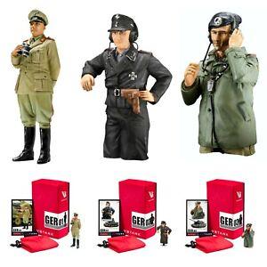 VsTank German WW2 Officer & Commander 1/24 Scale Limited Edition Metal Figures