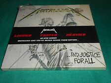 Metallica ‎– ...And Justice For All 4 × Vinyl, LP, 45 RPM,