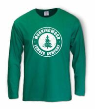 2bb869b549 Morning Wood Long Sleeve T-Shirt Funny Rude Counselor Camp Summer Lumber  White