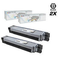 LD Compatible Okidata 44059112 Type C14 Set 2 Black C830dn C830dtn C830n