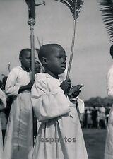 MOYEN-CONGO c. 1940 - Berberati Enfants de Choeur - PA47