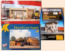 HO scale kits & built-up structures
