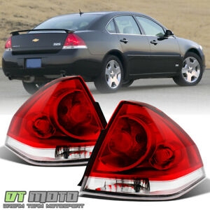 2006-2013 Chevy Impala Tail Lights Brake Lamps Replacement 06-13 Pair Left+Right