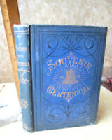 A SOUVENIR Of THE CENTENNIAL EXHIBITION,1877,1st Ed,Illust,Signed