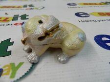 "Rucinni ""Swarovski"" Trinket Box -Bull Dog- Rb1648"