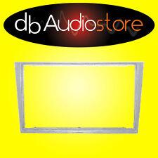 MA/296SL Mascherina Autoradio 2 DIN Opel Vectra Argento Adattatore Cornice Radio
