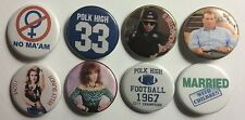 "Married With Children Set of 8 1 1/4"" Custom Magnets"