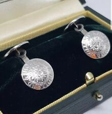 Holland & Holland Cufflinks Silver 925 Shooting/Hunting Buttons.Tarnish free.