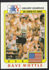 Topps 1983 Greatest olímpicos Tarjeta no 44 - 800 metros Runner Dave Wottle-USA
