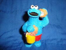 "Sesame Street Cookie Monster W/Beach Seashell PVC 3"""