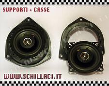 Coppia casse + supporti FIAT BRAVO DAL 2007 IN POI POSTERIORI 2VIE 50 WATTS 10cm