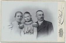 CAB Olomouc/Portrait-COPPIA con figlia attratti sottili (z119)